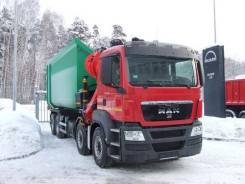 Кран-манипул. ломовоз бцм-198 MAN TGS 41.430 BB-WW