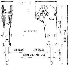Продадим новый гидравлический молот RHB309 для экскаватора