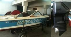 Быстроходный катер Barracuda V с мотором