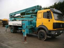 Услуги бетононасоса (швинга) от 16 до 50 метров