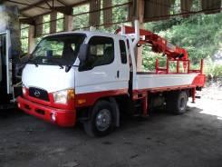 Автобуровая + Крановая установка  Hyundai Mighty