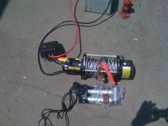Лебедка 9500 на джип 12 вольт