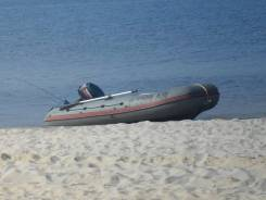 Лодка ПВХ Навигатор 380 (Санкт-Петербург) + Yamaha 30 л. с.