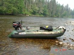 Продам надувную лодку San Marine SDP-365 цвет камуфляж