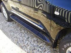 Подножки на LC 200 дизайн Lexus 570