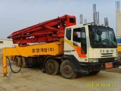 Услуги бетононасоса 43 метров (швинг)