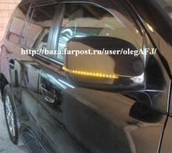 Крышки зеркал с поворотником AUDI Style для LAND Cruiser 200 / LX570