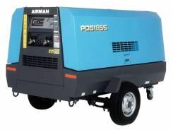 Аренда (услуги) дизельного компрессора на шасси без оператора (сутки)
