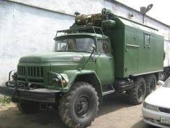 Передвижная ремонтная мастерская МРИВ на базе ЗИЛ-131
