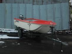 Моторная лодка пластиковая Yamaha 11футов без пробега по водам России