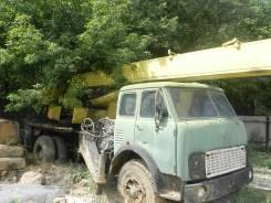 Автокран МАЗ 500, 1992