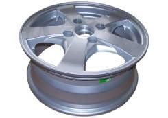 5 литых дисков R15x6.0JJ/ 4х114.3/ ET46/ D56.6/ 600KG
