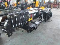 Крановая установка HIAB Soosan + с буровым механизмом В Наличии!