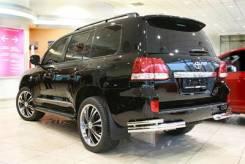 Защита заднего бампера (Дуга) для Toyota Land Cruiser 200