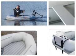 Лодка надувная гребная из ПВХ с жёстким надувным дном низкого давления