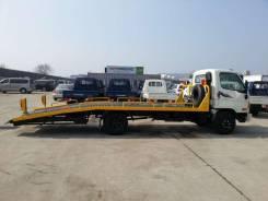 Новый 2013г. эвакуатор Hyundai HD 78 с лебедкой