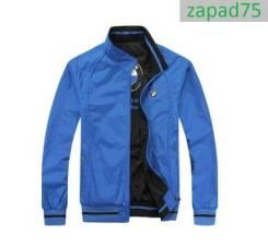 Двусторонняя куртка BMW размер L синяя