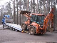 Перевозка Эвакуация Тракторов JCB МТЗ Экскаватор по Москве по России