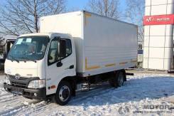 HINO 300 промтоварный (мебельный) фургон, 2013