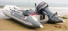 Лодка под мотор из ПВХ с жёстким надувным дном(Airdeck) Badger FLA390