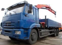 КАМАЗ 65117-906010-78+PalfingerРK 15500, 2013