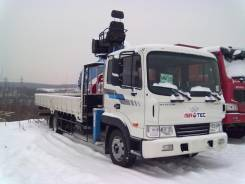 Hyundai HD120 (Мегатрак – корейский вариант 120-го)   с КМУ 5 тонн