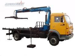 Автоэвакуатор с КМУ Инман 150 Т на КамАЗ 4308
