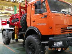 Бурильно-крановая установка Kanglim  KDC 5600 на Камаз 4326-1036-15