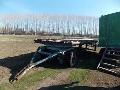 На базе шасси тракторонй тележки ташкентского трактороного завода, 1998
