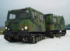 Вездеход амфибия Hagglunds BV-206 (Лось) 1988г