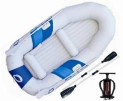 Новая 3-х местная надувная лодка с веслами . Bestway Marine Pro-1