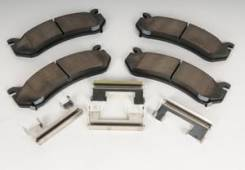 Колодки тормозные Cadillac, Chevrolet, GMC, Hummer Original в наличии