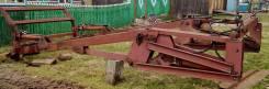 Установка для погрузки леса на трактор ДТ-75