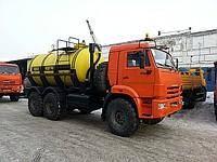 Автоцистерна емкостью 10 куб.м. для перевозки кислоты (кислотовоз) на шасси КАМАЗ-43118 (6х6), 2013