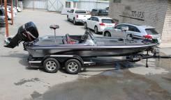 Fisher Boat Company. 1998 год, длина 6,10м., двигатель подвесной, 200,00л.с., бензин