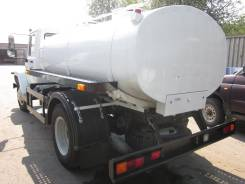 Автоцистерна пищевая (молоко) термоизолированная двухсекционная на шасси ГАЗ 3309, 2013