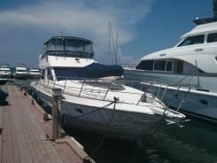 Продаётся и сдается в аренду моторная яхта с открытым мостиком 62 фута
