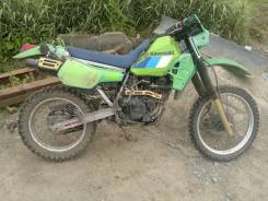 Kawasaki KLR 250, 1989