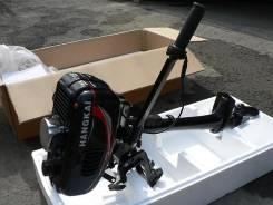 Лодочный мотор Hangkai 3.5 л. с. 3,50л.с., 2-тактный, бензиновый, нога S (381 мм), 2014 год