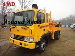 Продам автобуровую с манипулятором Hyundai MEGA Truck