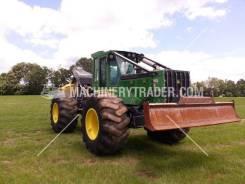 Скиддер (трелевочный трактор) John Deere 648, 2010 год