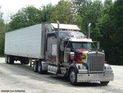 Ремонт американских грузовых автомобилей.