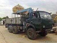 Услуги грузовик с крановой установкой вездеход