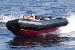 Лодка надувная моторная из ПВХ с надувным дном низкого давления НДНД