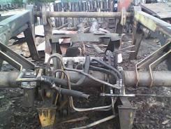 Установка для погрузки леса от трактора ТДТ-55