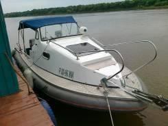 Продаю катер Альянс-6.5 риб. 2008г выпуска