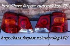 Стопсигналы рестайл для LAND Cruiser 200  c 2012г. +