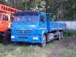 КАМАЗ 65117-6010-23 (А4) борт без тента каркаса, 2014