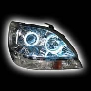 Тюнинг фары на Toyota Harrier 97-03(ангельские глазки)