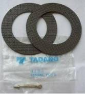 Фрикционные диски тормоза грузовой лебедки крановой установки, манипул